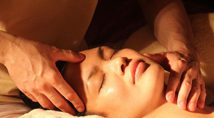masaż twarzy